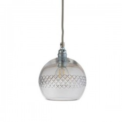 Ebb & Flow Rowan Crystal Pendant , Check Medium Stripe