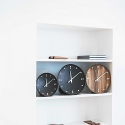 Architectmade FJ Clock Black