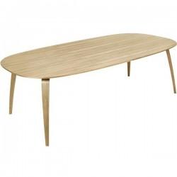 Gubi Dining Table - Wood - Elliptical