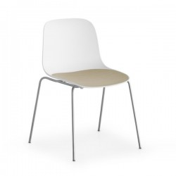 Lapalma Seela Chair Metal Legs
