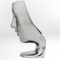 Driade Nemo Chair Silver