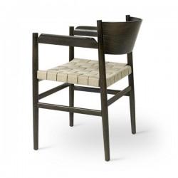 Mater Nestor Chair Sirka Grey Beech Natural Hemp Webbing