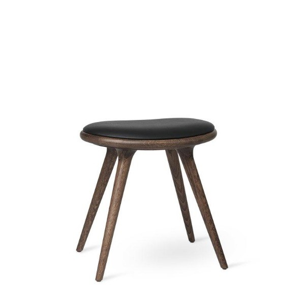 Mater Low Stool Dark Stained Oak