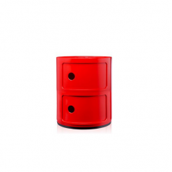 Kartell Componibili 2 Sections red