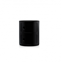 Kartell Componibili 2 Sections black