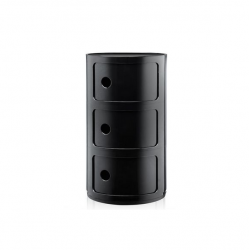 Kartell Componibili 3 Sections Black