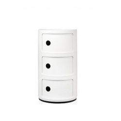 Kartell Componibili 3 Sections White