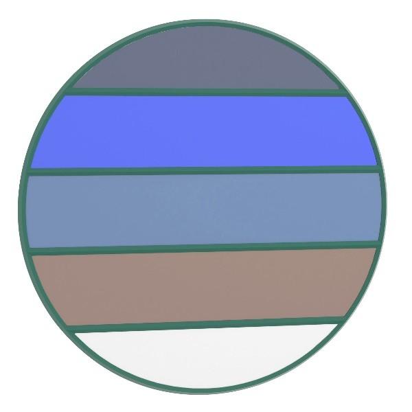 Magis Vitrail Mirror Round