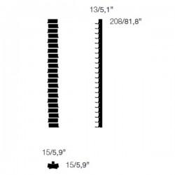Opinion Ciatti Ptolomeo Vino Wall 208cm