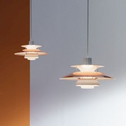 Louis Poulsen PH5 Copper Pendant Lamps