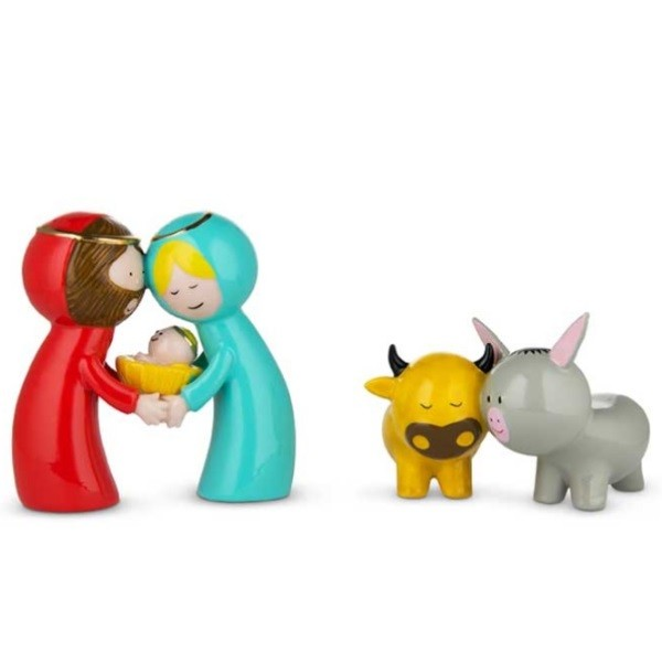 Alessi Happy Eternity Baby Figurines