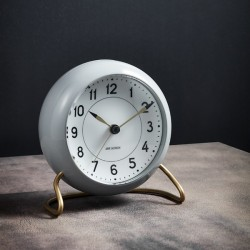 Rosendahl Station Table Clock Grey