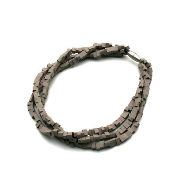 Materia Design Mosaico 3 Strings Necklace