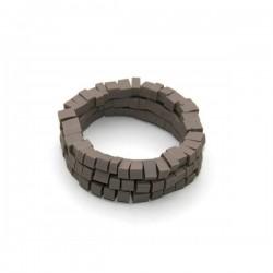 Materia Design Mosaico 3 Strings Bracelet