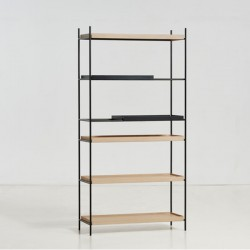 Woud Tray Shelf High