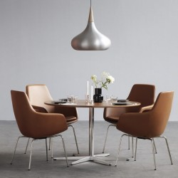 Fritz Hansen Little Giraffe Chair 3201 Leather