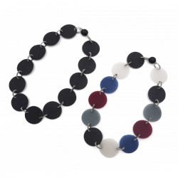 Materia Design Flat Short Necklace