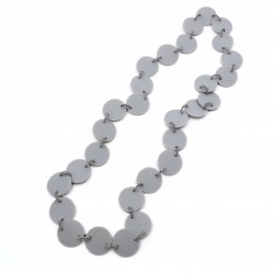 Materia Design Flat Long Necklace