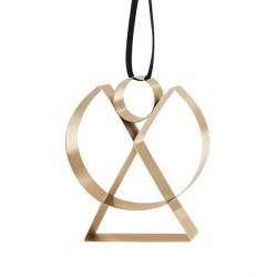 Stelton Figura Ornament Angel Brass Big