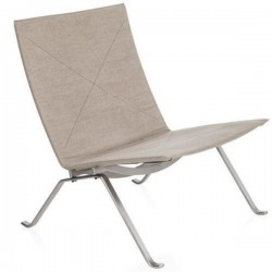 Fritz Hansen PK22 Lounge Chair Canvas