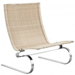 Fritz Hansen PK20 Lounge Chair Wicker
