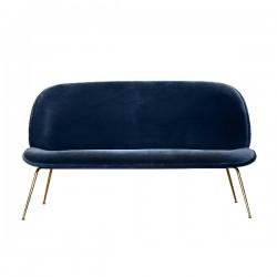 Gubi Beetle Sofa Upholstered Velvet