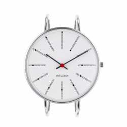 Arne Jacobsen Bankers Bangle Watch White