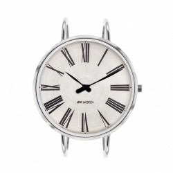 Arne Jacobsen Roman Bangle Watch White