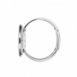 Arne Jacobsen Roman Bangle Watch White