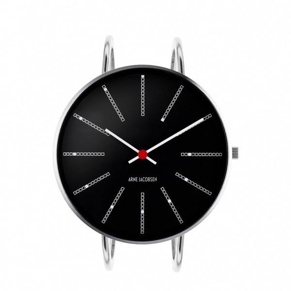 Arne Jacobsen Bankers Bangle Watch Black