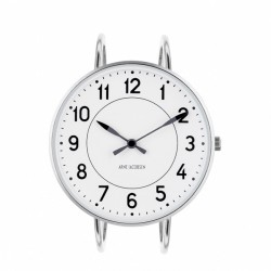 Arne Jacobsen Station Bangle Watch White