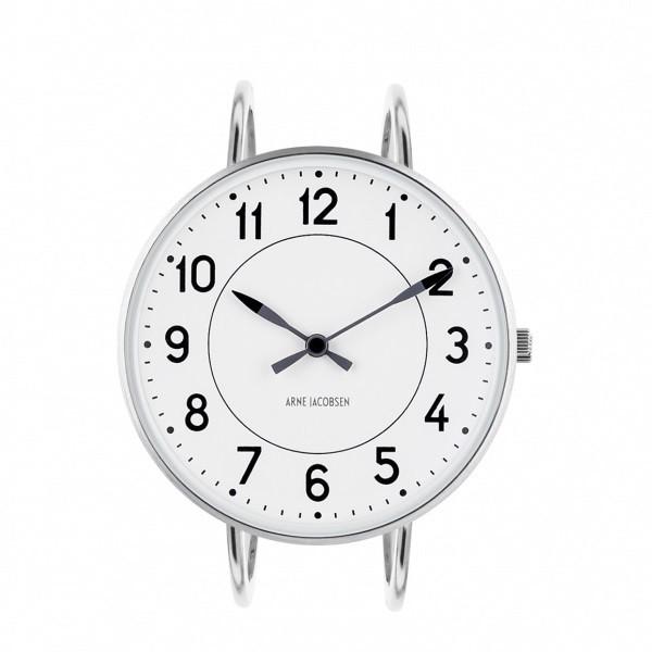 Arne Jacobsen Station Bangle Watch White