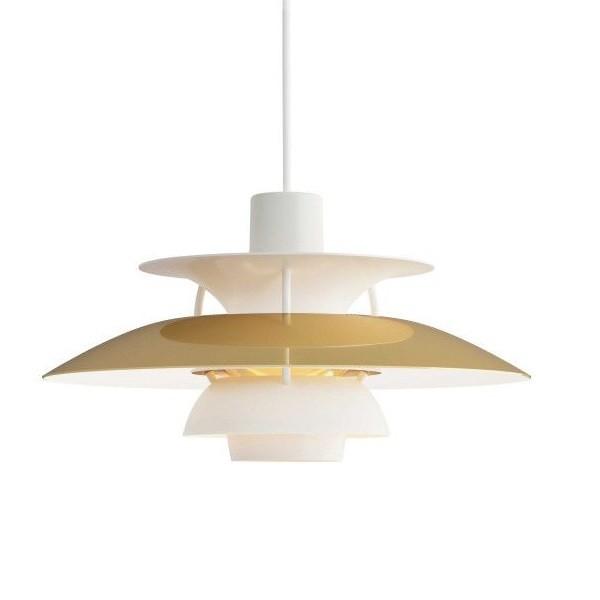 Louis Poulsen PH5 Mini Brass Pendant Lamp