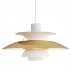 Louis Poulsen PH5 Brass Pendant Lamp
