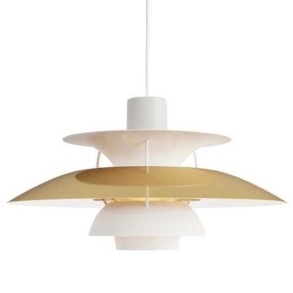 Louis Poulsen PH5 Brass Pendant Lamp
