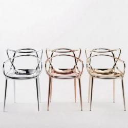 Kartell Masters Chair Metallic