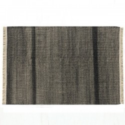 Nanimarquina Tres Black Carpet Outdoor