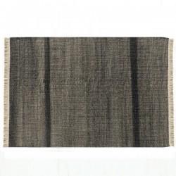 Nanimarquina Tres Black Carpet Outdoor