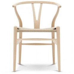 Carl Hansen & Søn CH24 Wishbone Chair Beech Soap
