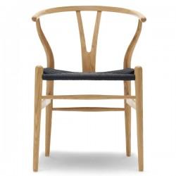 Carl Hansen & Søn CH24 Wishbone Chair/Black Paper Cord