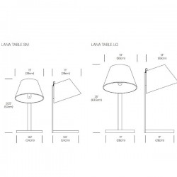 Pablo Lana Table Lamps