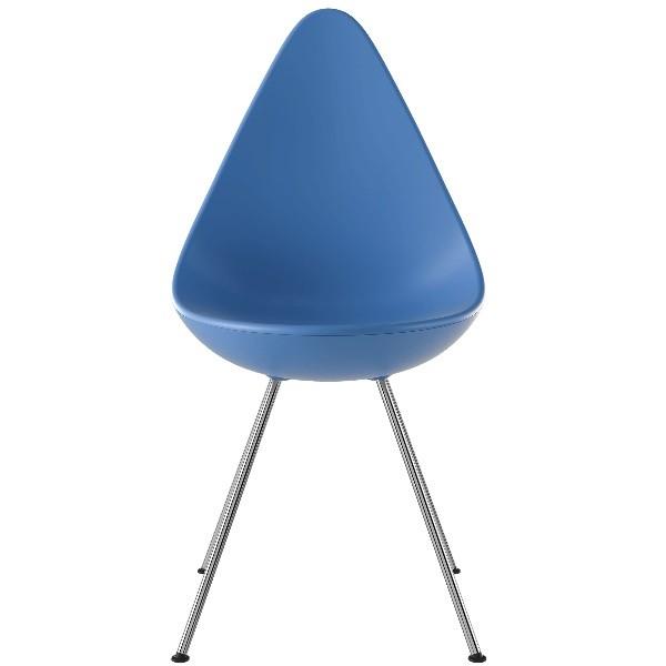 Fritz Hansen Drop Chair, Plastic Shell