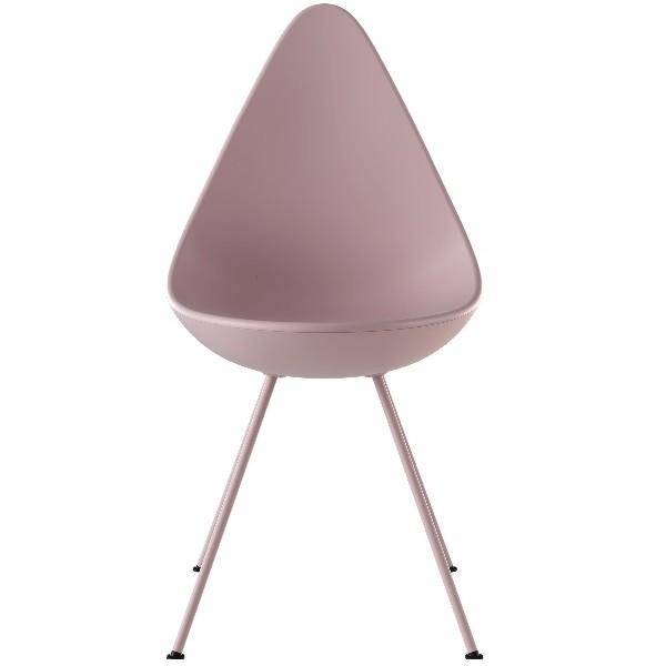 Fritz Hansen Drop Chair, Plastic Shell Monochrome