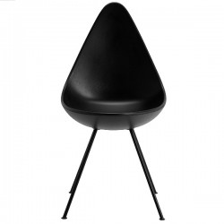 Fritz Hansen Drop Chair, Plastic Shell Monochrome