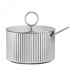 Georg Jensen Bernadotte Sugar Bowl with Spoon