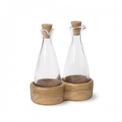 Kay Bojesen's Menageri Oil and Vinegar Bottles