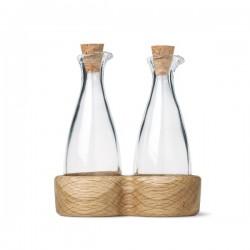 Kay Bojesen's Menageri Oil and Vinegar Bottles