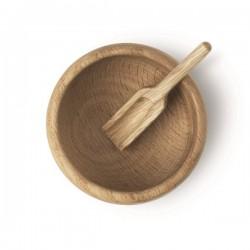 Kay Bojesen's Menageri Salt Cellar and Spoon