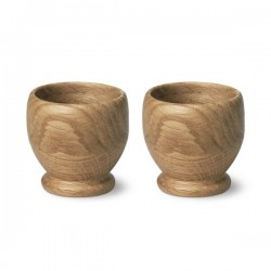 Kay Bojesen's Menageri Egg Cups Set of Two