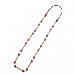 Materia Design Deco Long Necklace